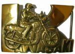 KAWASAKI MOTORCYCLE BELT BUCKLES